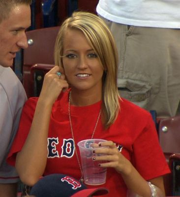 Sox girl red boston